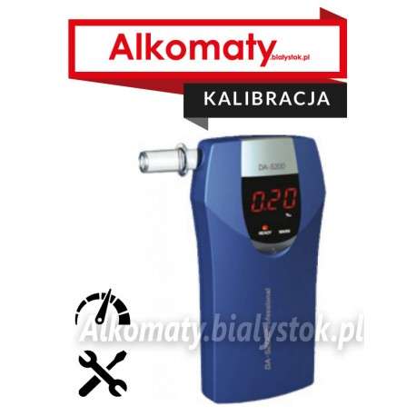 Kalibracja alkomatu
