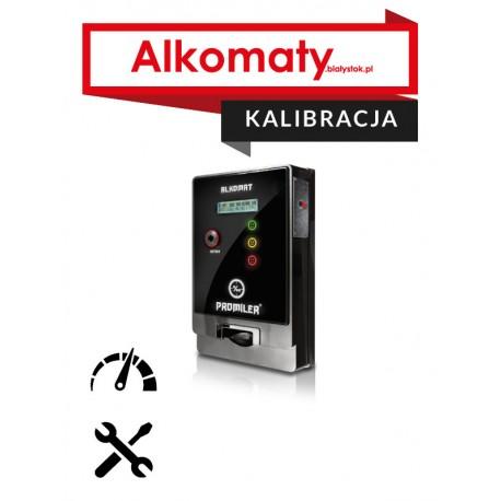 Kalibracja alkomatu AL-4000