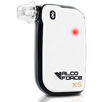 Alkomat AlcoForce XS do Smartfona wykryty alkohol w wydychanym powietrzu