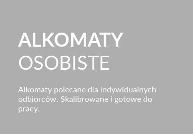 Alkomaty osobiste (do użytku indywidualnego)