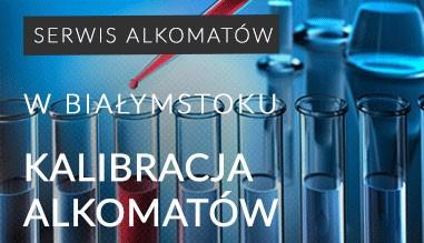Kalibracja i serwis alkomatów w Białymstoku
